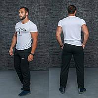 Мужские Батальные спортивные штаны Большого размера пр-во Украина