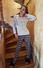 Піжама молодіжна з довгими штанами