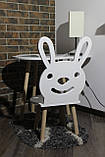 Cтол и стульчик для детей Сет Patrik (Луна), фото 3
