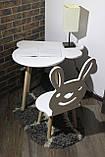 Cтол и стульчик для детей Сет Patrik (Луна), фото 4