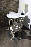 Cтол и стульчик для детей Сет Patrik (Луна), фото 5