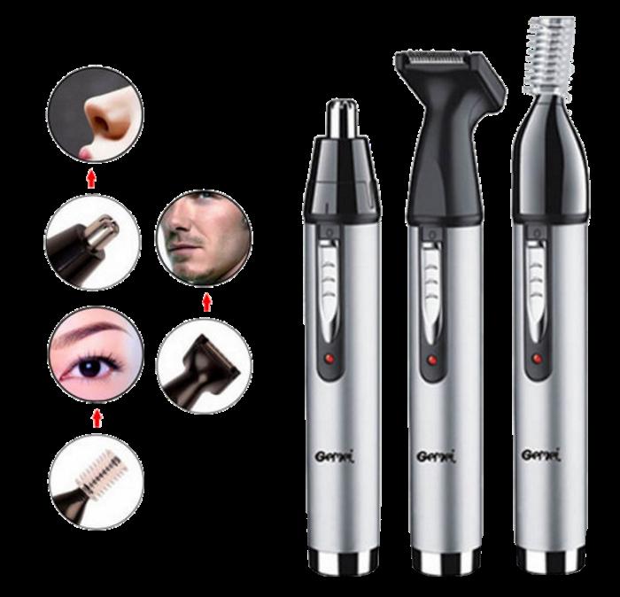 Триммер Gemei GM 3107 3в1 - Электробритва для носа, ушей, висков и шеи