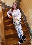 Стильні молодіжні піжами, SEXEN 51193, фото 2