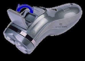 Электробритва Gemei GM-7500 3 в 1 - беспроводная роторная бритва с триммером, фото 3