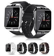 Умные часы Smart Watch DZ-09 Black - смарт часы под SIM-карту и SD карту (Черные), фото 2