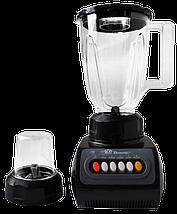 Стационарный блендер Domotec MS-9099 2 в 1 - мощный блендер измельчитель с кофемолкой, фото 2