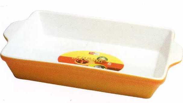 Форма прямоугольная из жаропрочного фарфора 33 см Forno