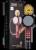 Микрофон караоке WSTER WS-1816 - беспроводной Bluetooth микрофон с cветомузыкой слотом USB и FM тюнером Черный, фото 4