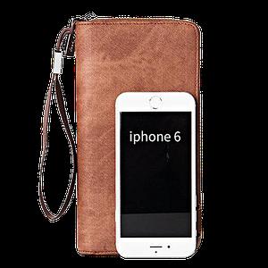 Мужской кошелек клатч портмоне барсетка Baellerry S1514 business Cofee