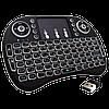 Беспроводная мини клавиатура KEYBOARD MWK08/i8 LED с тачпадом и подсветкой, фото 2