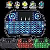 Беспроводная мини клавиатура KEYBOARD MWK08/i8 LED с тачпадом и подсветкой, фото 4
