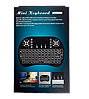 Беспроводная мини клавиатура KEYBOARD MWK08/i8 LED с тачпадом и подсветкой, фото 5