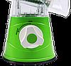 Овощерезка мультислайсер Tabletop Drum Grater Kitchen Master - Ручная терка шинковка для овощей и фруктов, фото 4