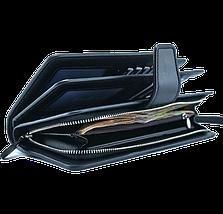 Мужской кошелек клатч портмоне барсетка бумажник Baellerry business S1063 Black, фото 3
