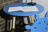 Современная детская мебель стол и стульчик Сет Atlantis (Луна), фото 3