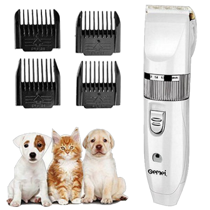 Машинка для стрижки животных Gemei GM-634 USB - Профессиональная машинка для стрижки собак и кошек