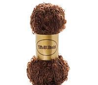 Волосы для куклы Puppenwolle kastanie 1,95м