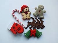 Пуговицы «Cute Christmas Stuff»