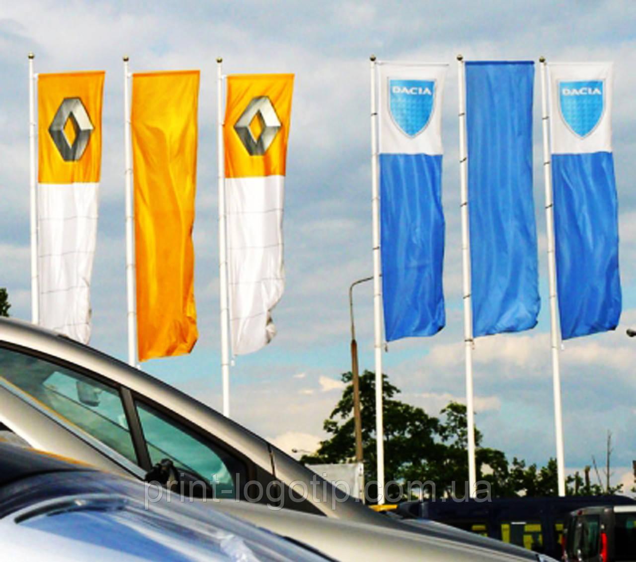 Флаги организаций, изготовление флагов на заказ