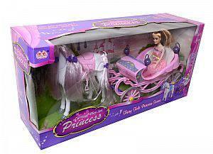 """Детский игровой набор """"Карета с куклой и лошадкой"""" 37386"""