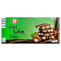 Шоколад молочный с цельным орехом K Classik Edel Rahm Nuss