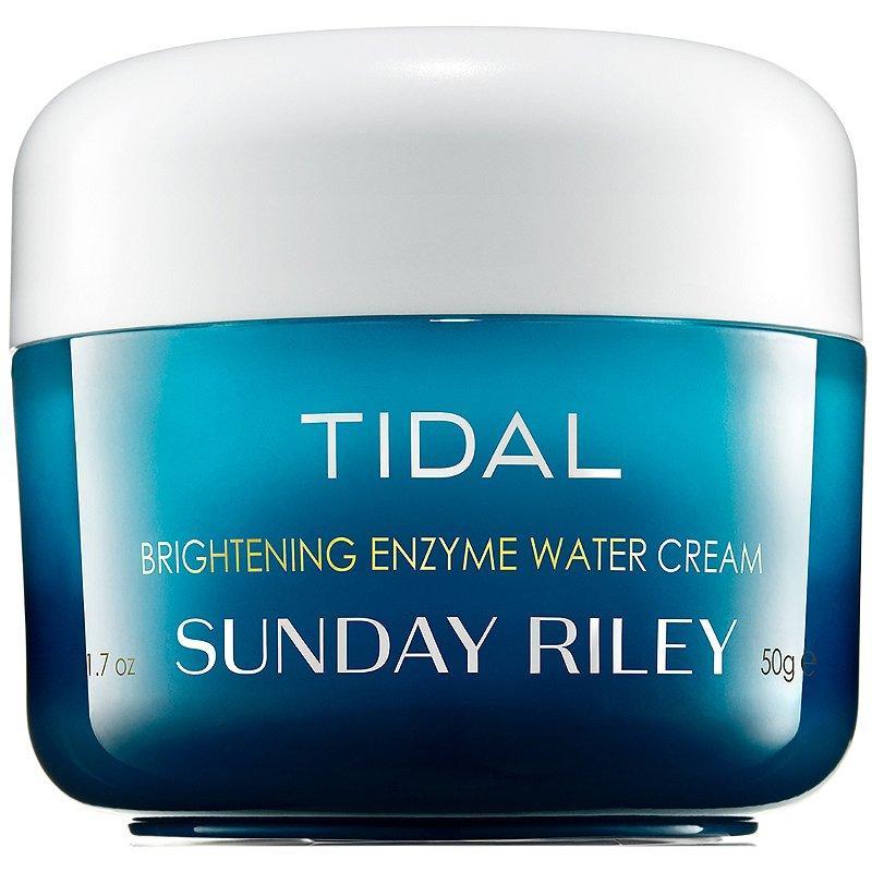 Увлажняющий и осветляющий крем с энзимами Sunday Riley Tidal Brightening Enzyme Water Cream тестер 50 мл
