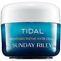 Увлажняющий и осветляющий крем с энзимами Sunday Riley Tidal Brightening Enzyme Water Cream тестер 50 мл, фото 1