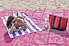 Пляжна підстилка анти-пісок Sand Free Mat 150см*200см - пляжний килимок,підстилка антипесок,пляжне покривало, фото 6