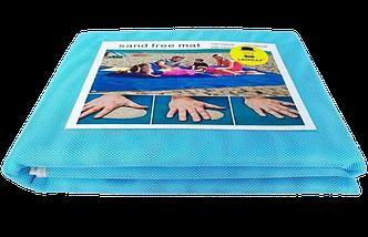 Пляжная подстилка анти-песок Sand Free Mat 150см*200см - пляжный коврик,подстилка антипесок,пляжное покрывало, фото 2