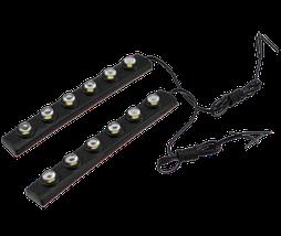 Автомобильные дневные ходовые огни гибкие ДХО Day light 1202-6 диодов!, фото 2