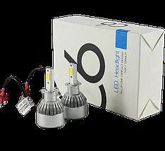 Комплект автомобильных LED ламп C6 H3 - Светодиодные лампы, Автолампа, Ближний, дальний свет, Автосвет, фото 3