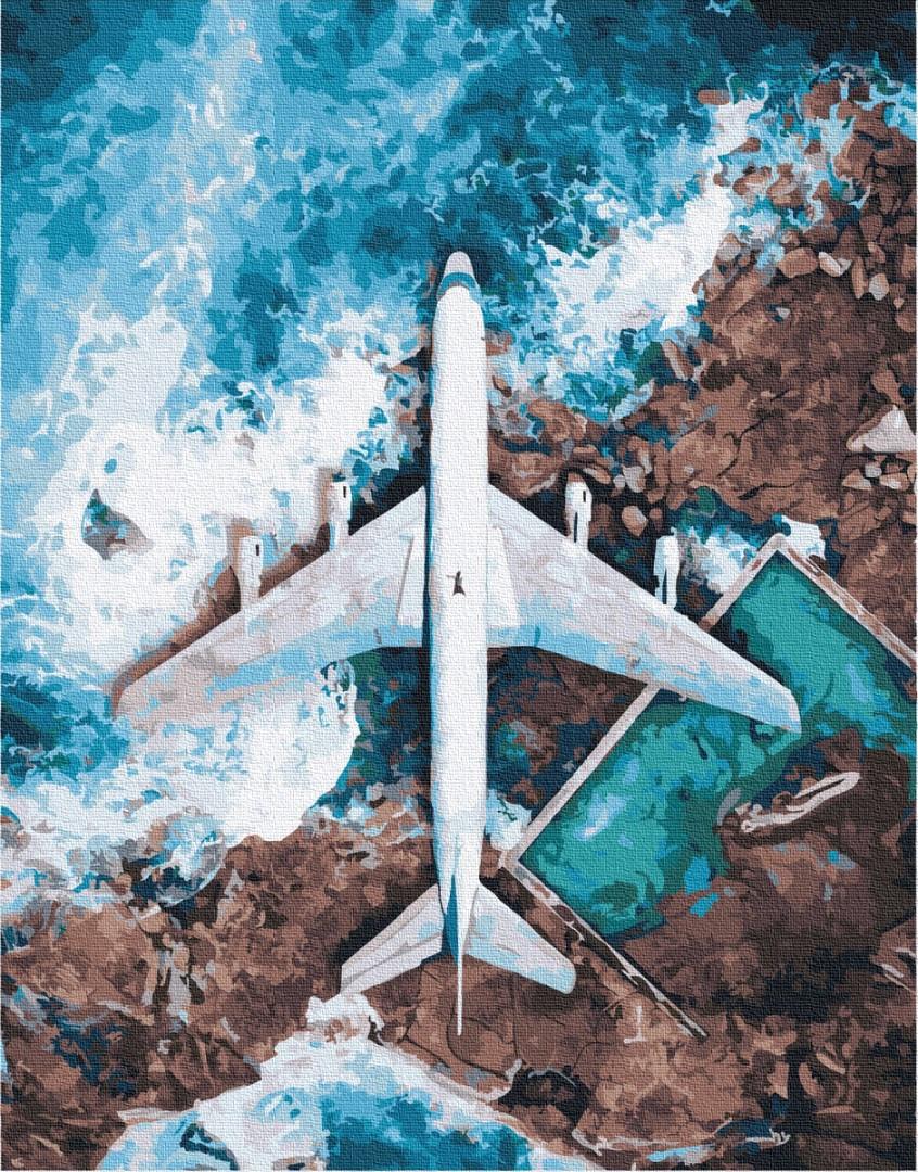Картина по номерам Brushme Авіа GX32527 40х50см набор для росписи Пейзажи и дома