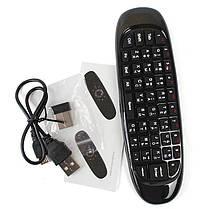 Универсальный пульт мышка клавиатура для смарт тв телевизора Air mouse C120, фото 2