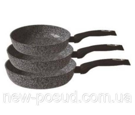 Набор сковородок с мраморным покрытием 20, 24, 28 см Edenberg EB-1738