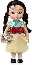 Кукла дисней аниматор принцесса малышка Мулан