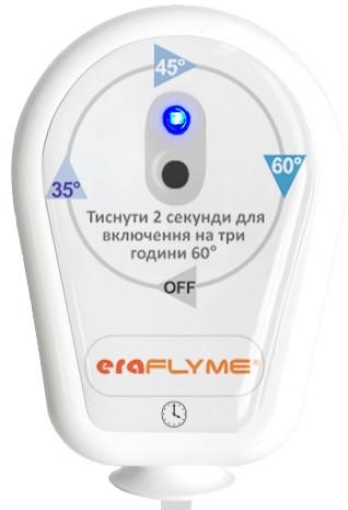 Электронный розеточный терморегулятор Eraflyme EF16T белый (вилка для полотенцесушителя)