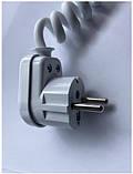 Электронный розеточный терморегулятор Eraflyme EF16T белый (вилка для полотенцесушителя), фото 4