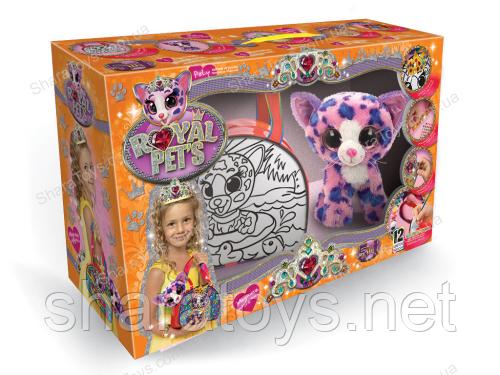 "Набор для раскраски сумки с животным ""ROYAL PETS"""