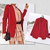 Модный стильный женский пиджак без застежки (р.42-46).  Арт-3310/14