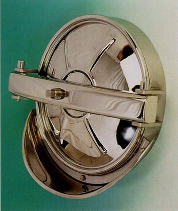 Люк круглый из нержавеющей стали , фото 2