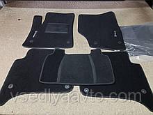 Ворсовые коврики в салон Volkswagen Touareg с (2002-2010)