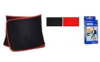 Пояс для похудения SB878L (80% неопрен, 20% эластан, р-р L-24см x 105см x 3мм, черно-красный)