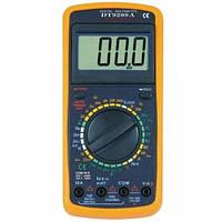 Многофункциональный цифровой измерительный прибор, мультиметр DT-9208A PR3