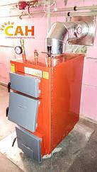 Монтаж котлов на твердом топливе с механическим регулятором тяги
