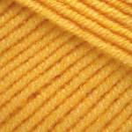 Пряжа для вязания Джинс жёлтый 35