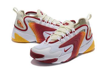 Кроссовки Nike Zoom 2k Orange White Найк зум 2к белый с оранжевым