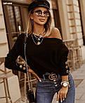 """Жіноча кофта """"Праліне"""" від СтильноМодно, фото 4"""