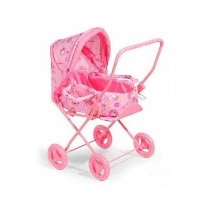 Коляска для куклы Melogo (Metr+) 9391 розовый 35923