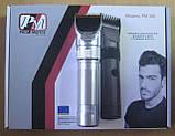 Машинка для стрижки волосся акумуляторна Promotec PM-358 (керамічне лезо), фото 2