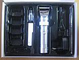 Машинка для стрижки волосся акумуляторна Promotec PM-358 (керамічне лезо), фото 3